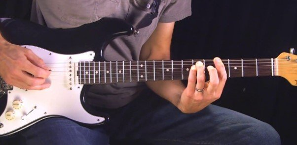 Electric Guitar Easier to Learn On